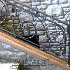 balustrady-schodowa-wewnetrzna-metalowa-kuta-b148b