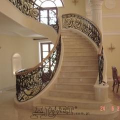 balustrady-schodowa-wewnetrzna-metalowa-kuta-porecz-debowa-b141b